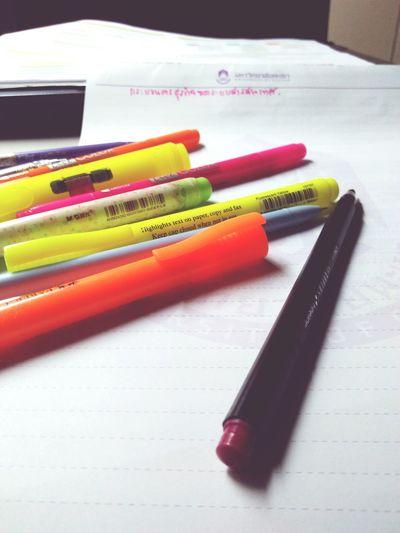 เทสๆ 😉 Office Supply Pencil Indoors  Variation Choice Neat Close-up first eyeem photo