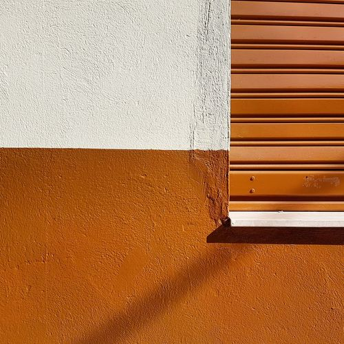 Close-up of brown wall