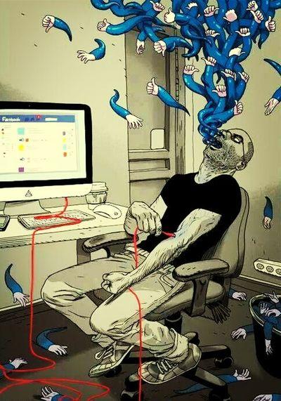 Facebook Like Cartoon Hummor hummo