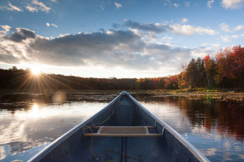 Autumn Autumn Leaves Blue Camping Canoe Cottage Cottage Life Fall Fall Beauty Landscape Landscape_photography Mirror Paddling Red Sky Sun