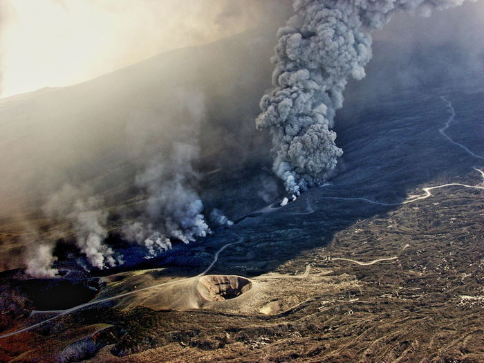 eruzione 2002 Burning Cenere Fire Flame Fumo Geology Heat Parossismo Physical Geography Power In Nature Vulcano