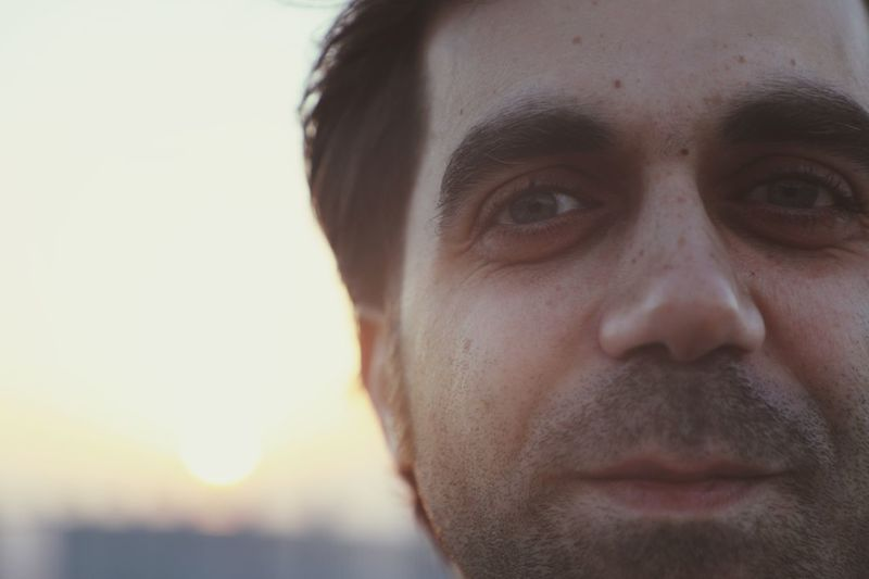 Windows of the Soul Sunset Freshness Real Blue Eyes Eye Portrait Headshot Close-up One Person Human Face Front View EyeEmNewHere Human Body Part Body Part Looking At Camera Men Real People Adult Mustache Beard Facial Hair A New Beginning A New Beginning EyeEmNewHere This Is Natural Beauty Capture Tomorrow Capture Tomorrow