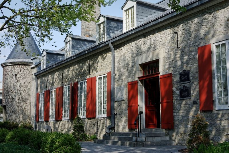 Château Ramezay- Museum and beautiful historical building in Old Montréal History Nikon Canada Quebec Montréal Vieux Montreal Old Montreal Ramezay Museum Architecture Building Exterior Built Structure House Outdoors Red Window