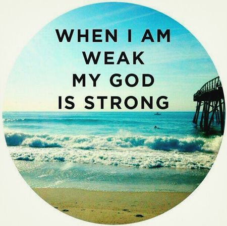 Thank You ..... Lord for Strengthening. .....Me !!! ♡ Hello World