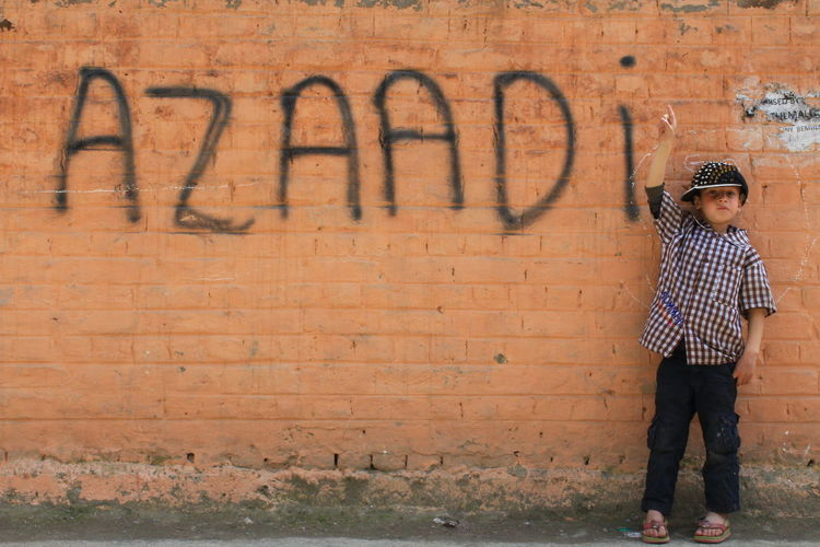 Free My Land || Azaadi Means Freedom || STRUGGLE For FREEDOM Text Full Length One Person Leisure Activity Spray Paint Outdoors People Day Adult Streetphotography Eye4photography  EyeEm Masterclass Kashmirdiaries Kashmirphotographers Eye4photography  EyeEm Gallery Eye4photography  Conflictzone Eye4photography  Eye4photography  Bloodtears The Street Photographer - 2018 EyeEm Awards