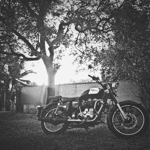 Oldbike Royalenfield Classic Blackandwhite Photography