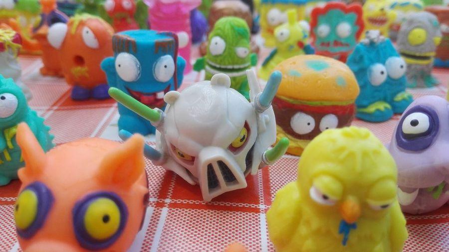 Trashpacks Figurine  Multi Colored Colorsplash No People Childhood Toys