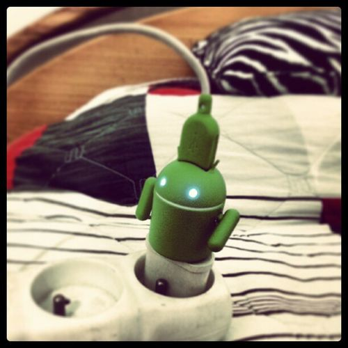 Meet Andru , my lovely charger !! Android AndroidElite
