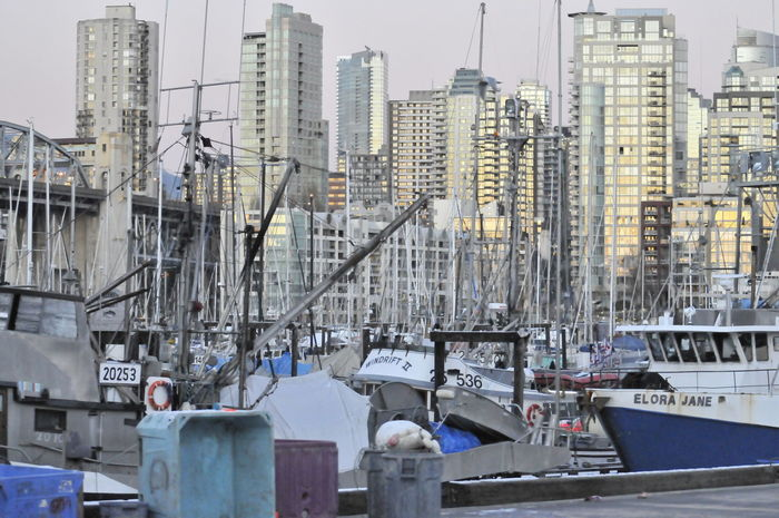 Skyscrapers Architecture Building Exterior Built Structure City Day Highrises Nautical Vessel No People Outdoors Transportation