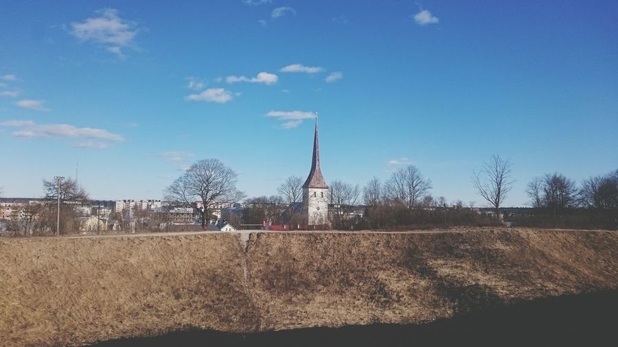 Sky Cloud - Sky Tree Day No People Outdoors Nature Estonia Objects Of Interest Photos Photography Themes Tree Beauty In Nature Photography Land Tree_collection  Architecture Church Church Architecture Church Tower Multi Colored EyeEmNewHere Landscape_photography Landscape_Collection Landscape