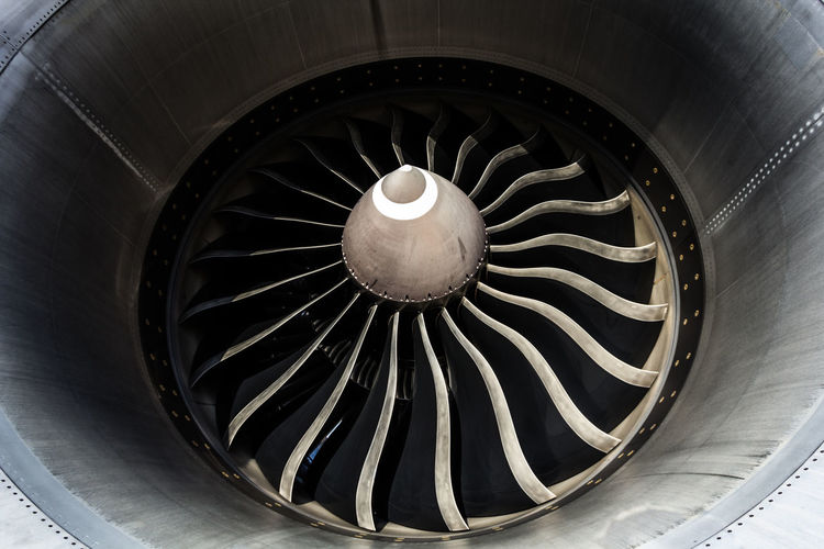Aircraft Airplane Architectural Feature Backgrounds Circle Close-up Day Design Directly Below Engine Enjoying Life Flying Full Frame Geometric Shape Getting Inspired No People Portrait Power Repetition Shape Spiral Traveling