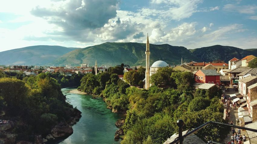 Mostar, 08.2016 First Eyeem Photo Mostar Bridge Bridge River View Water Old Town Mostar Bosnia And Herzegovina