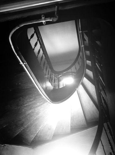 upstairs Taking Photos Blackwhite Architecture Keretaapi