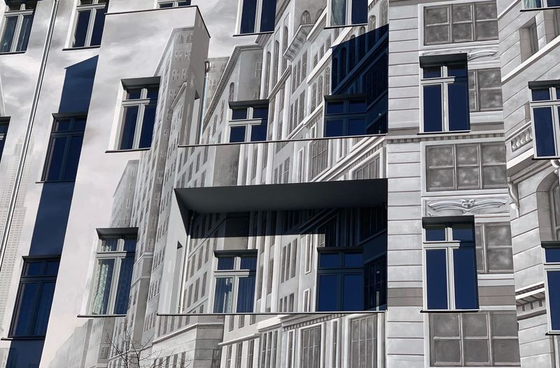 Built Structure Architecture Building Exterior Building Day No People City Low Angle View Full Frame Sunlight Window Outdoors Backgrounds Residential District Pattern Nature Travel In A Row Wall Shadow