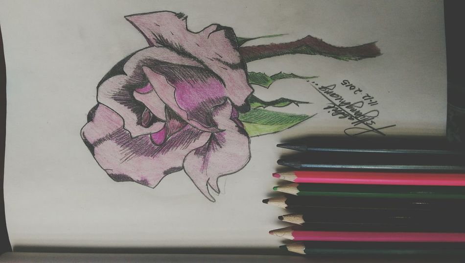 Imagine Your World Drawing Thinking Sketch Art My Creation Art, Drawing, Creativity Happiness ♡ Express It In Your Own Way
