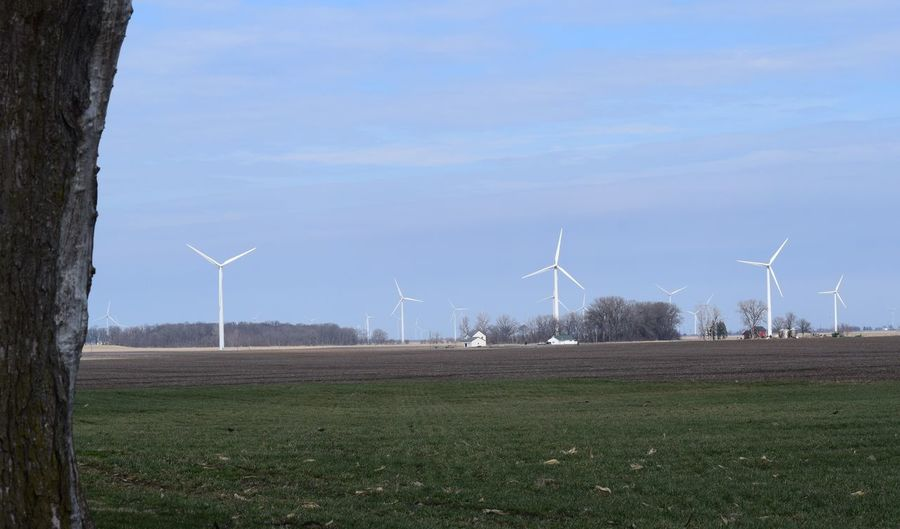 Wind Power in Northwestern Indiana Alternative Energy Cloud - Sky Electricity  Environment Environmental Conservation Environmental Issues Fuel And Power Generation Landscape Nature No People Outdoors Power In Nature Power Supply Renewable Energy Rural Scene Sky Social Issues Solar Energy Solar Panel Solar Power Station Sustainable Resources Technology Wind Power Wind Turbine Windmill