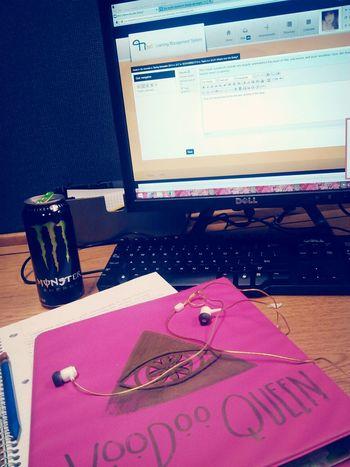 Night Class Voodoo Queen ♡ Monster Energy Cute♡ Listen too Lil Boosie!♬♪?