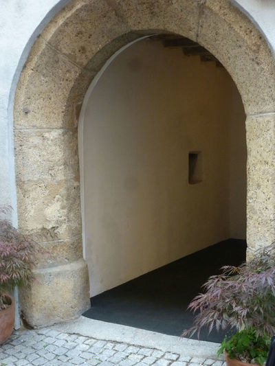 Arch Architecture Brick Wall Building Building Exterior Built Structure Closed Day Denkmal Denkmalschuzt Door Doorway Entrance Hall In Tirol History House No People Old Outdoors Stone Wall Wall Wall - Building Feature Window