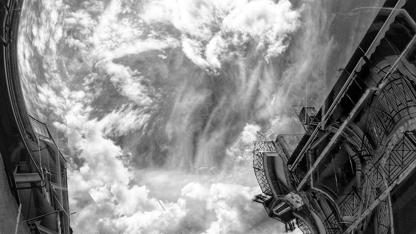 EyeEm Black And White Blackandwhite Photography Sky Cloud - Sky Building Settlement Architecture