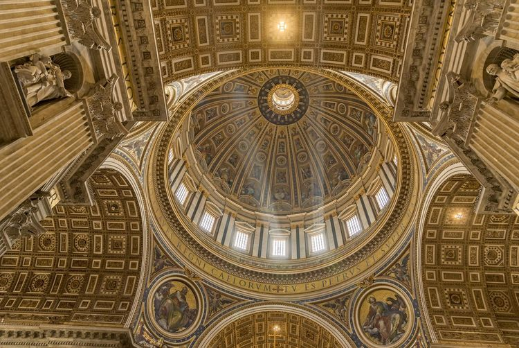 Interior Of St Peters Basilica