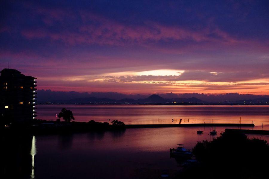 Sunrise Japan BiwakoValley
