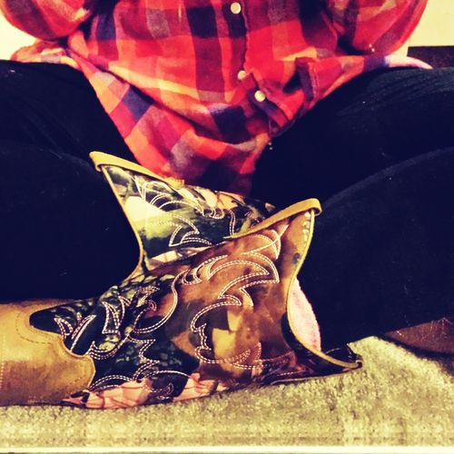 My New Boots Taking Photos Country Girl Cowgirl Up