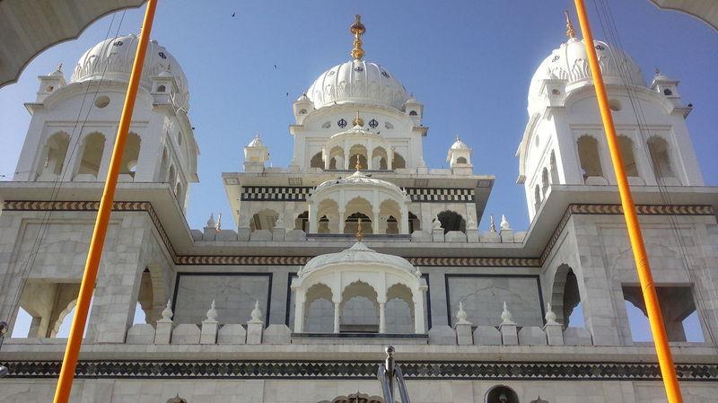 Puskar India. Architecture Building Exterior Famous Place Famous Places Gurudwara JRPphotography Majestic Place Of Worship Puskar Rajasthan Religion Tourist Attraction