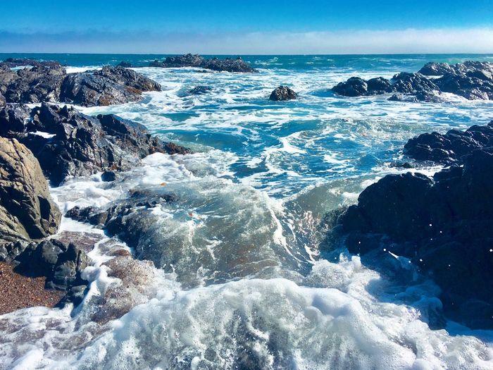 The Great Outdoors - 2018 EyeEm Awards The Traveler - 2018 EyeEm Awards Landscape Taking Photos Nature Sea Water Scenics - Nature Beauty In Nature Sky Horizon Over Water Nature Beach Tranquility Tranquil Scene Motion Outdoors Wave