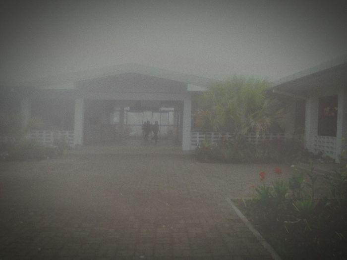morning fog at KUGH