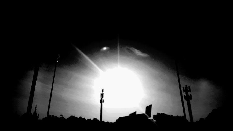 Sunrise Black & White Black And White