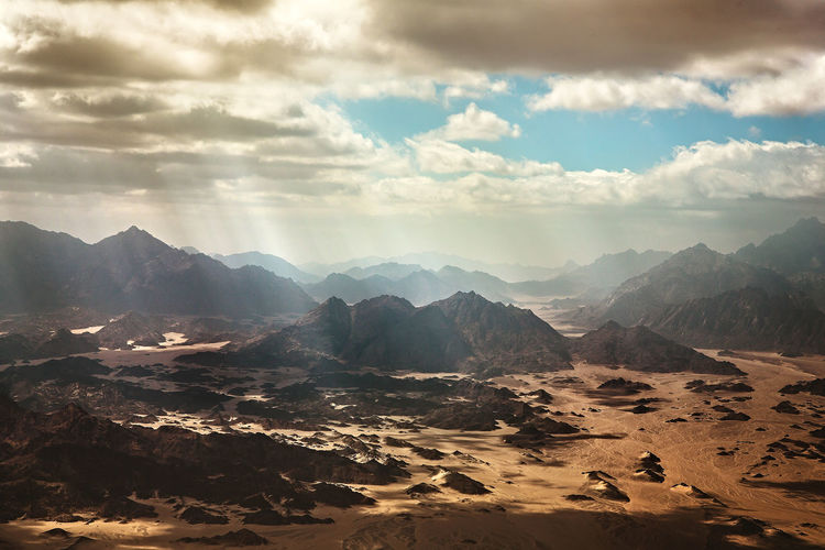 Cairo Desert Drone  Egypt Sunrays View Airplane Cloud - Sky Dry Egyptian Hurghada Landscape Mointains Mountain Mountain Range Nature Nomade Rock - Object Sand Sky Sunlight Upintheair Wide Width Wind