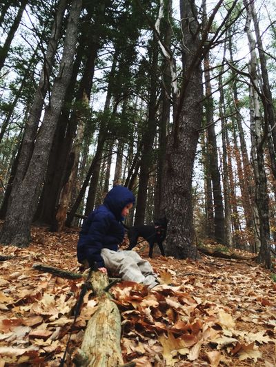 Sitting amoungst the trees. Fallinmaine EyeEm Nature Lover