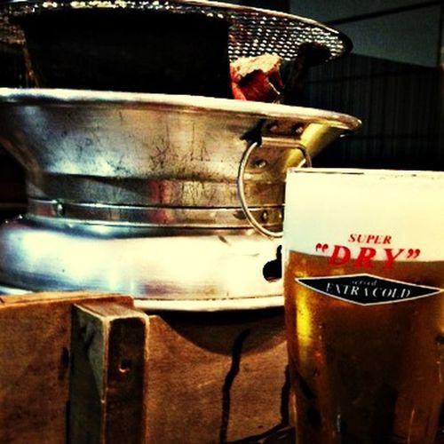 ビールと。