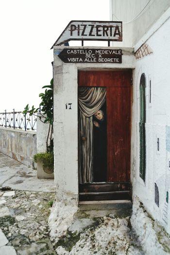 Trompe-l'œil Trompe L'oeil Gargano Vieste Puglia Vieste White Houses