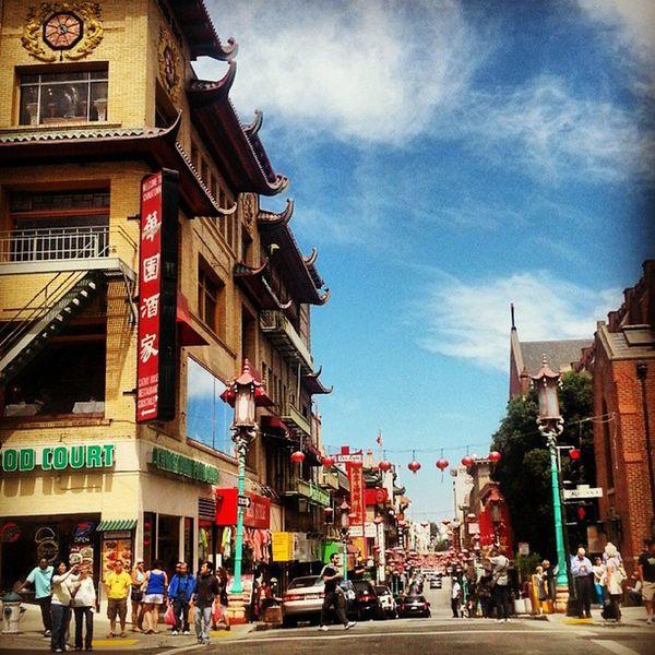 Chinatown Sanfran Vacation Perfection