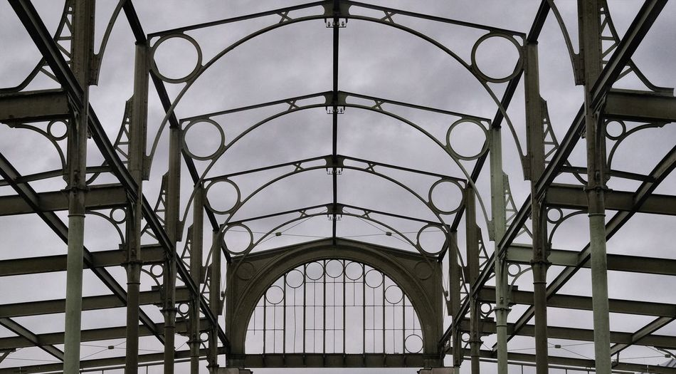 Industry Skeleton Arch Architecture Built Structure Hall Metal Structure Pattern City #urbanana: The Urban Playground