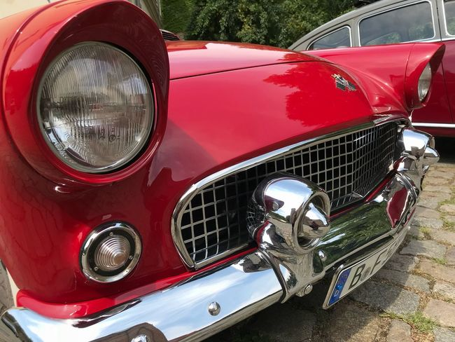 Ford Thunderbird at Oldtimers car show in Zitadelle, 2018 Ford Fordthunderbird Car Vintage Cars Fins Chrome Thunderbird Mode Of Transportation Land Vehicle Transportation Red Car Retro Styled Motor Vehicle Headlight Vintage Car Metal Chrome