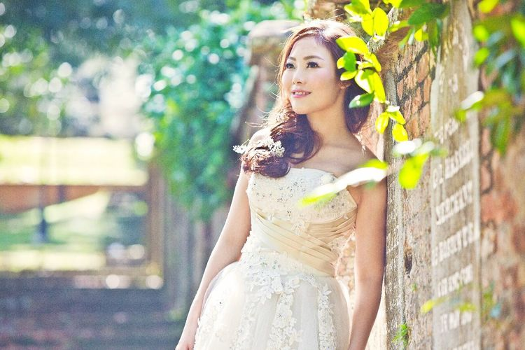 White Dress Dream Ladyinwhite Bridal Bridal Photoshoot Bride Hairstyle Beautiful Nature Nature