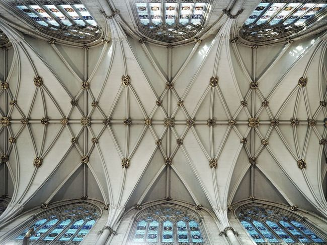 York Minster  York Architecture Church Cathedral Ceiling Pattern Place Of Worship Architecture And Art Ceiling Design Ceiling
