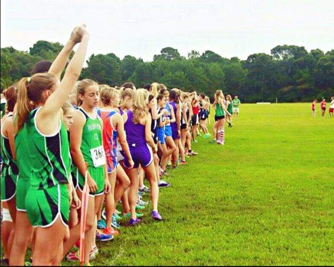 On The Move cross-country 5k Run Race Running Cross-country