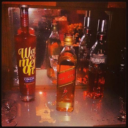 Zapasy Alkohol Redlabel no to pijemy ;-)