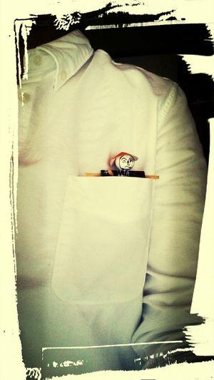 へのへのもへじろう。 へのへのもへじ 白シャツ ホッケ