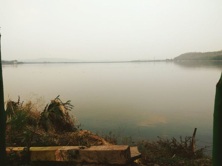 Water Nature Dam Water Surface Nofog Beauty In Nature Day eveningtime