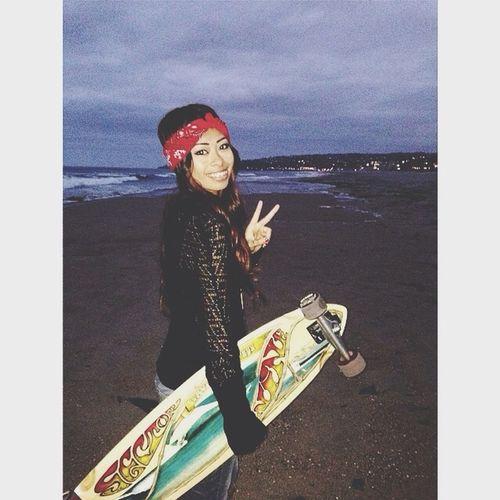 Night cruisin' Skate Beach Night California