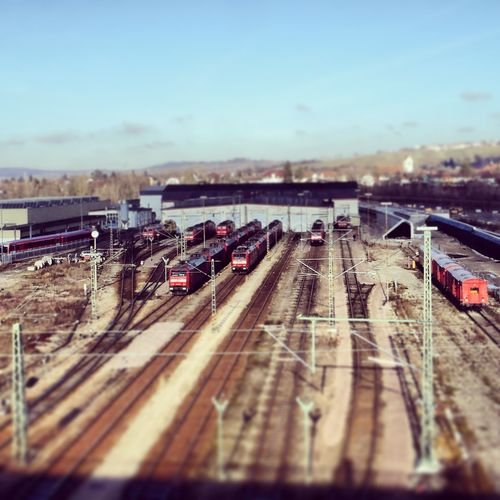 Trainspotting Trainporn Tilt Shift Tiltshift