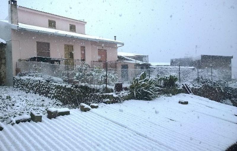 Neve in città...