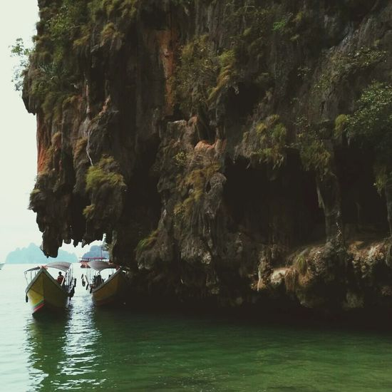 Island Taking Photos Thailand Traveling
