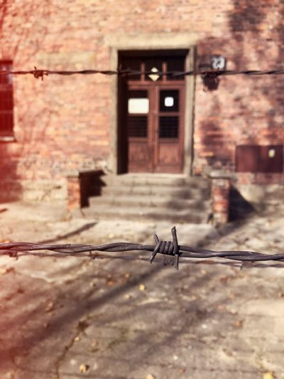 Day Architecture Window No People Built Structure Outdoors Auschwitz Memorial Auschwitz  Ww2