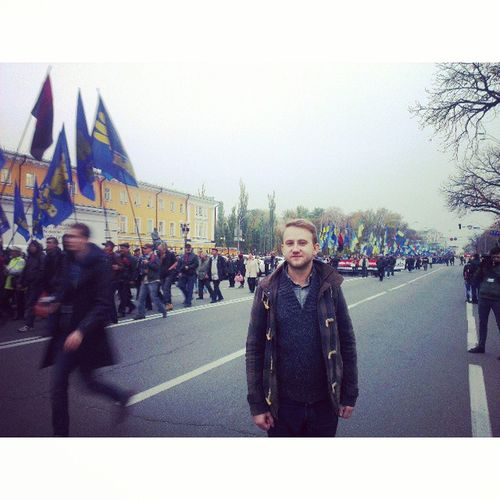 День Покрови, марш УПА 2013 Kyiv Ukraine UA