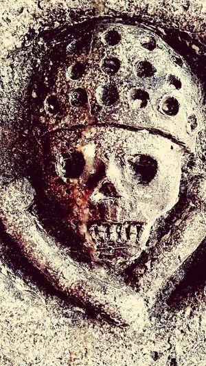 Close-up Indoors  No People Day Skull Skulls And Bones Calavera  Pirata Pirate Stone Piedra
